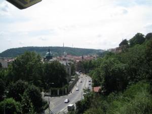 Trails to run in Prague