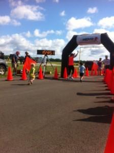 Airport 5k kids race