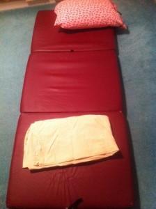 mats to sleep on