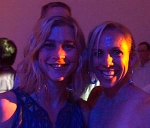 Lauren Fleshman at Oiselle party