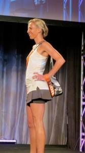 Marathon Tote during the Oiselle Fashion Show