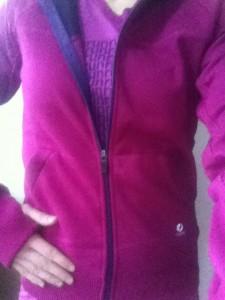 oiselle happy hoodie