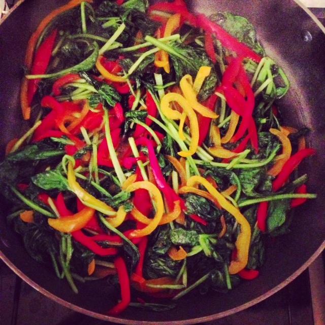 runner's pre-race veggies