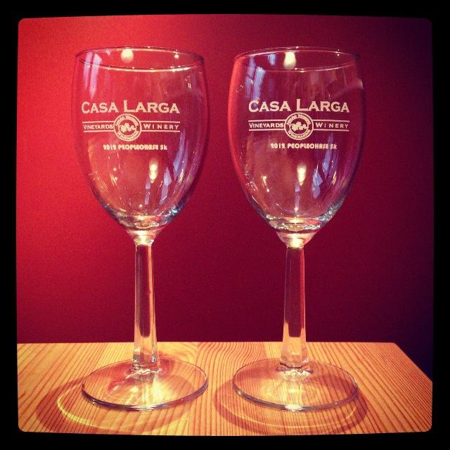 Casa larga race wine glasses