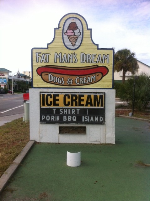 fat man's dream myrtle beach