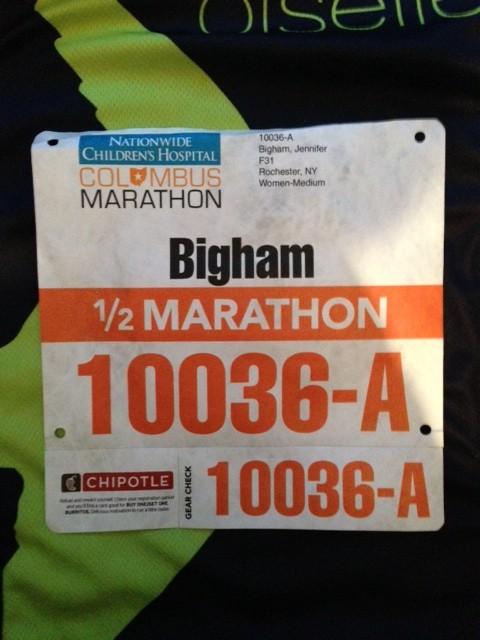 columbus marathon elite bib