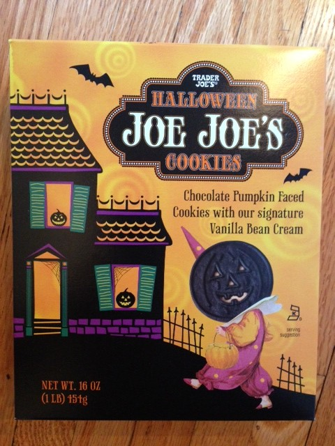 halloween joe joe's cookies trader joes