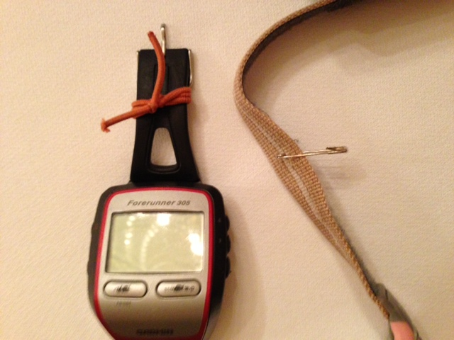 broken garmin and timex