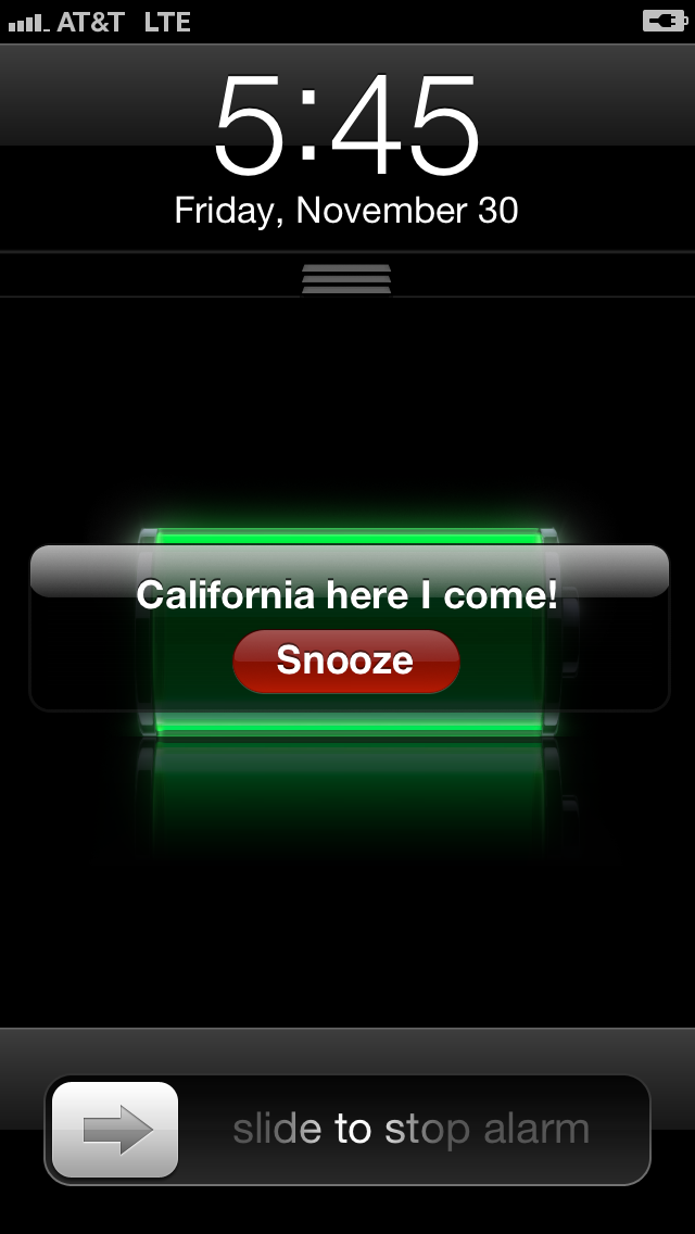 california international marathon alarm