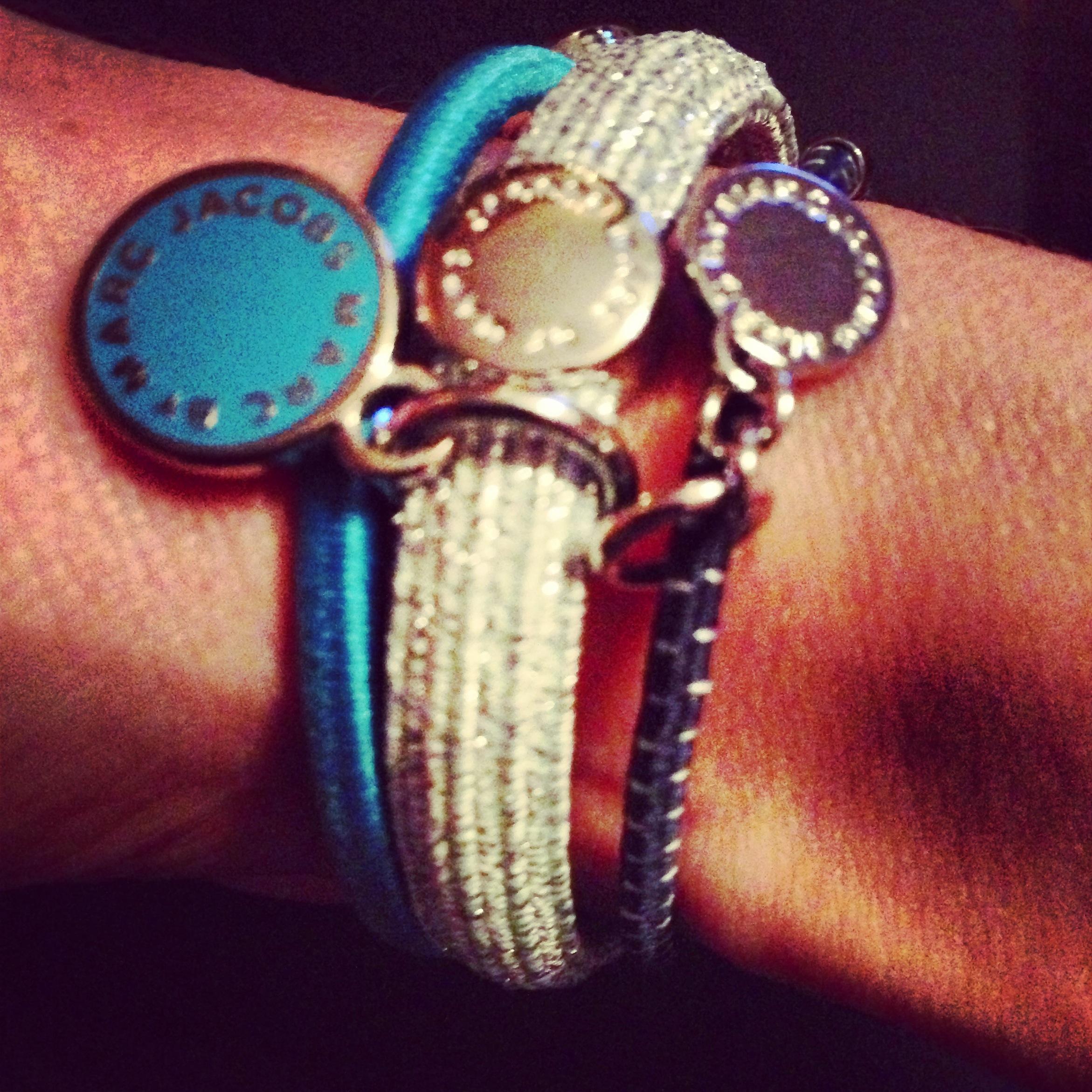 Marc Jacobs hair tie bracelets