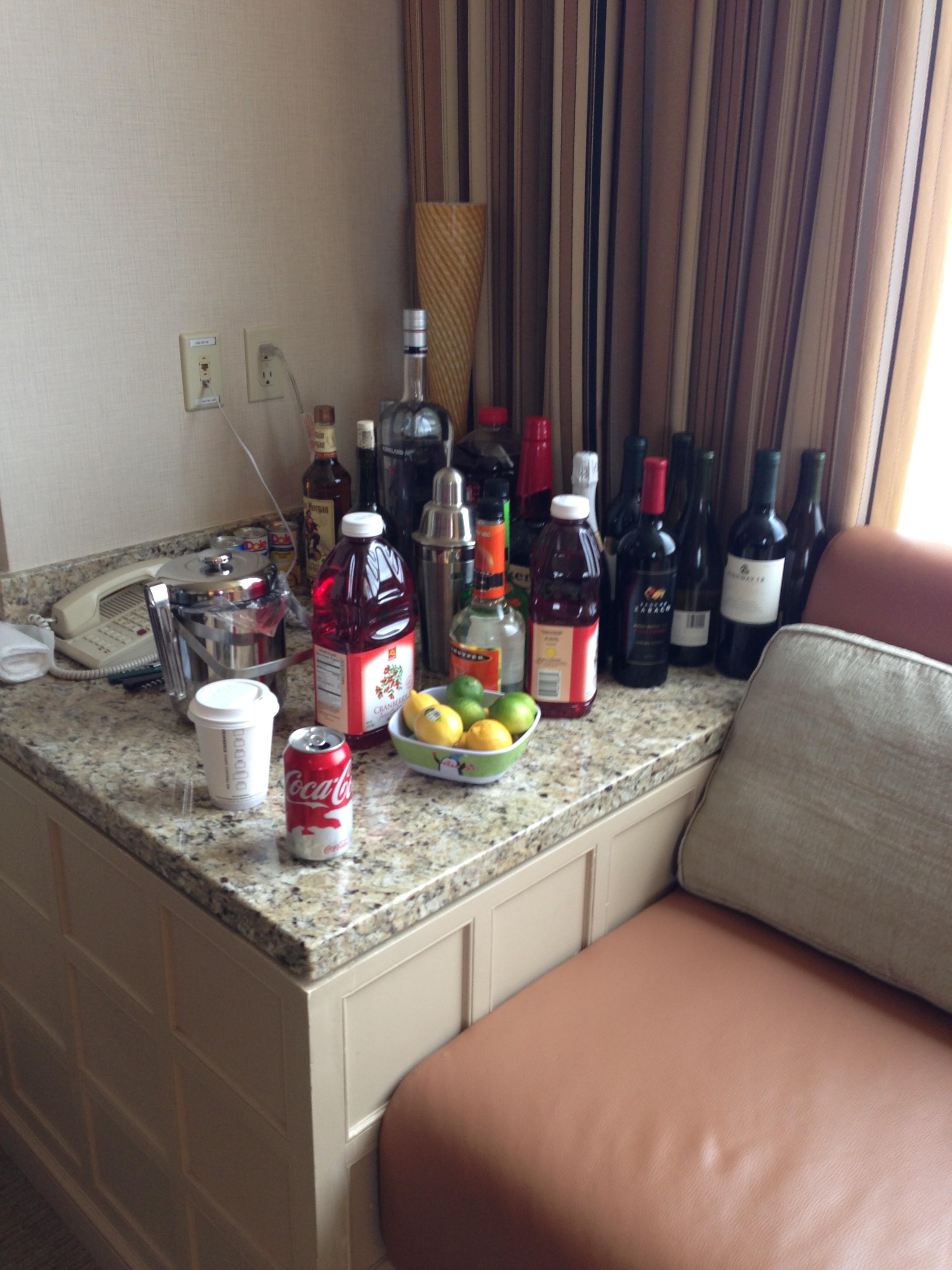 elite suite alcohol