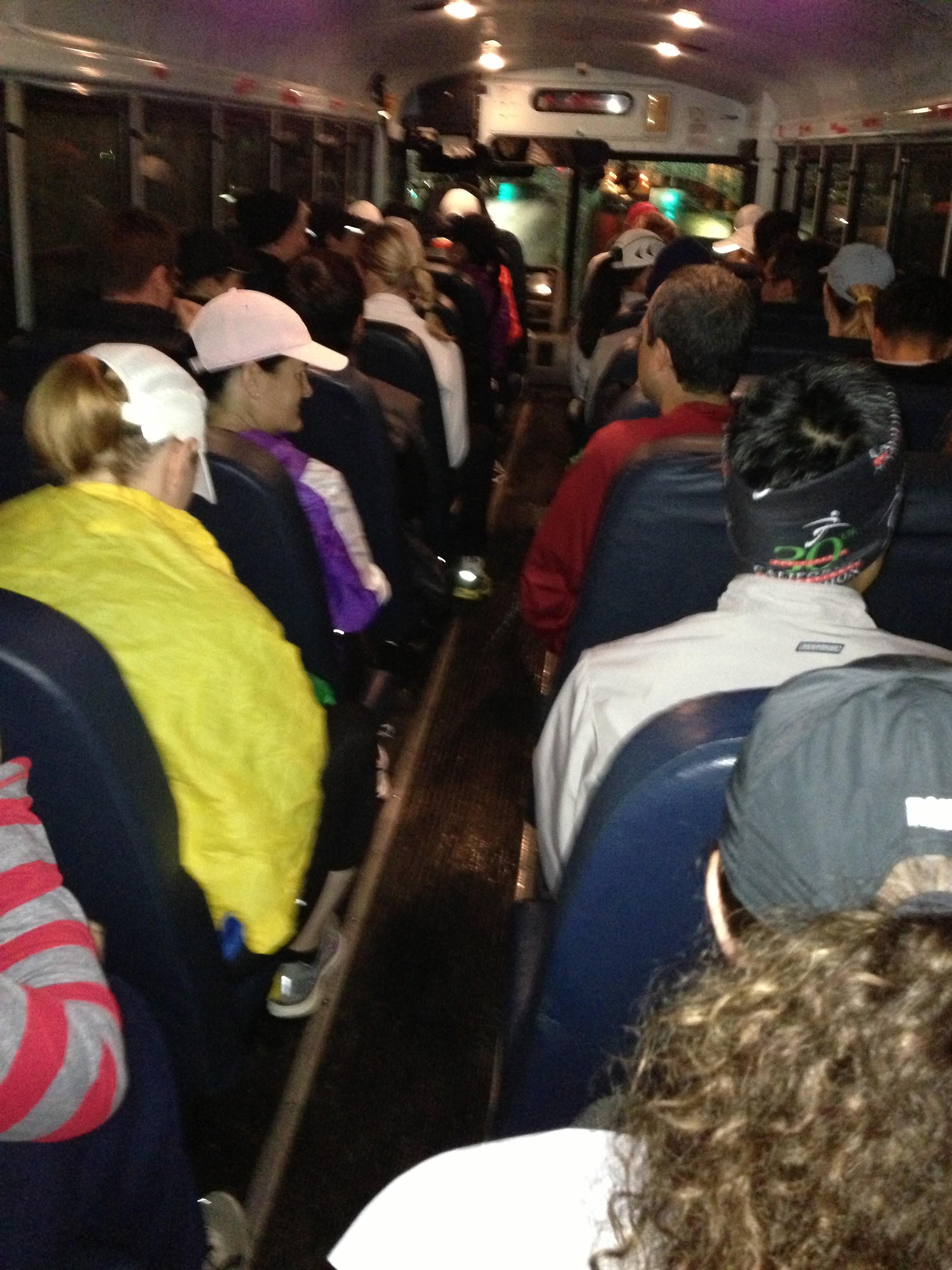 bus to start of CIM