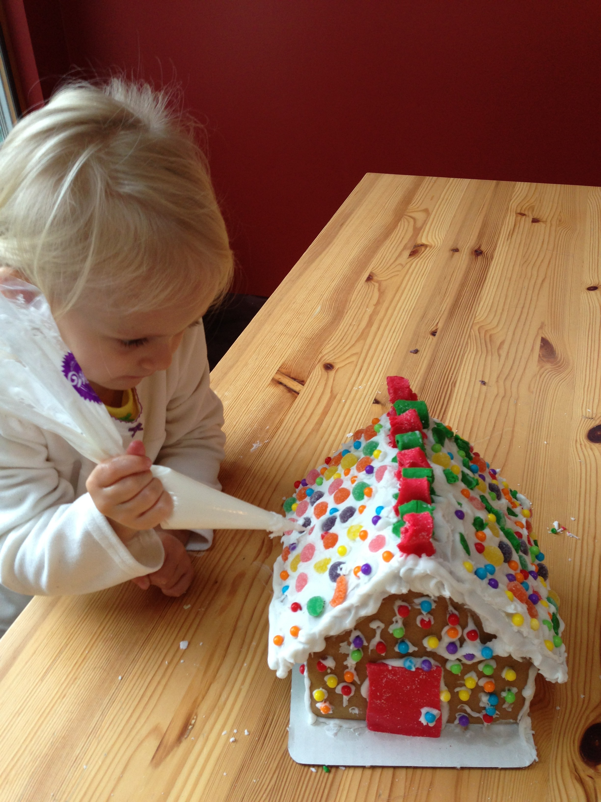 toddler gingerbread house