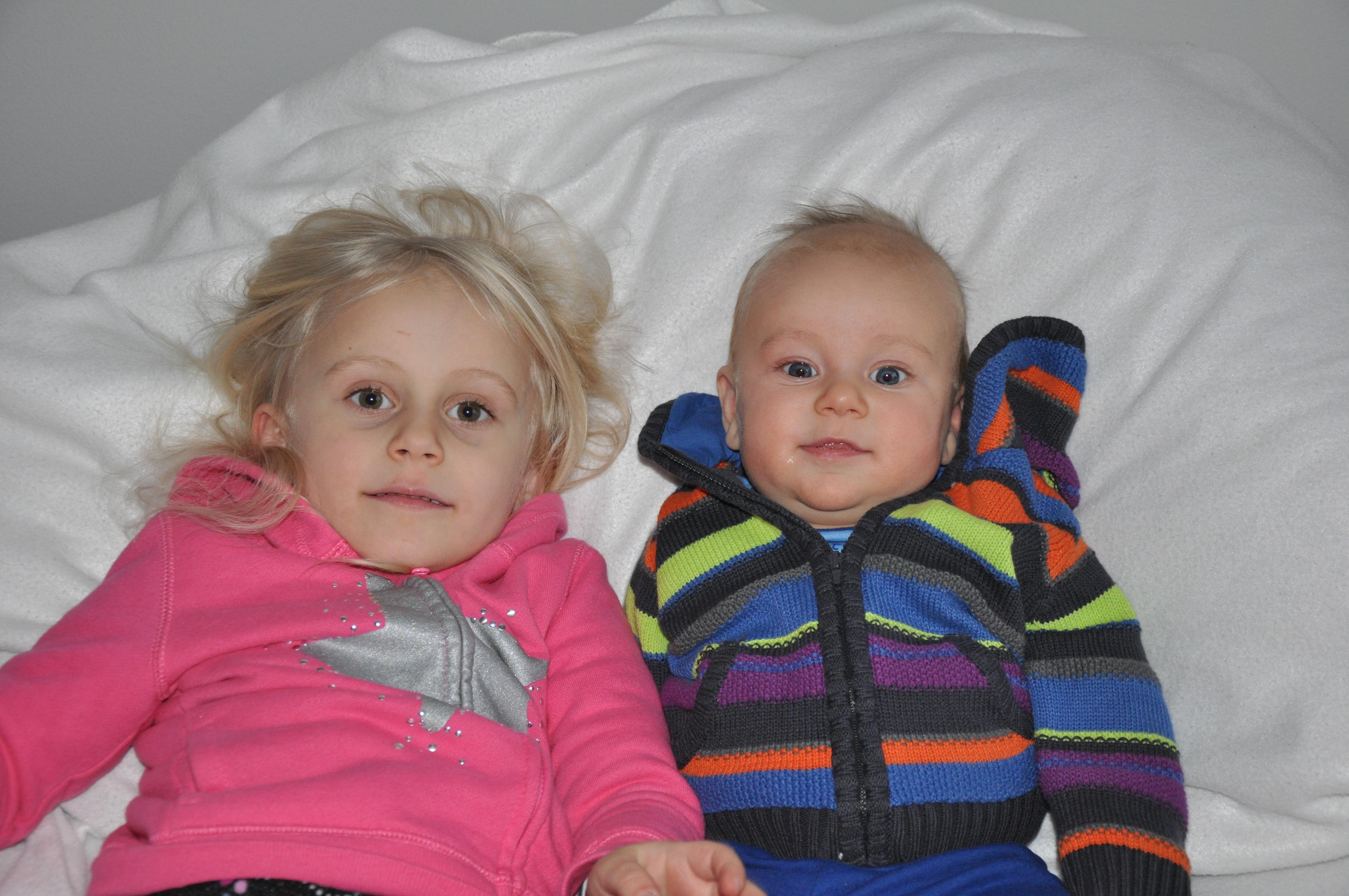 Sibling love of the week.