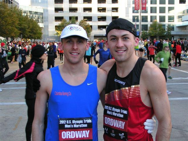 My brothers at the last Olympic Trials in Houston. I want to be there with them next time!