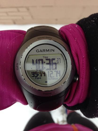 12.74 miles in 40:36