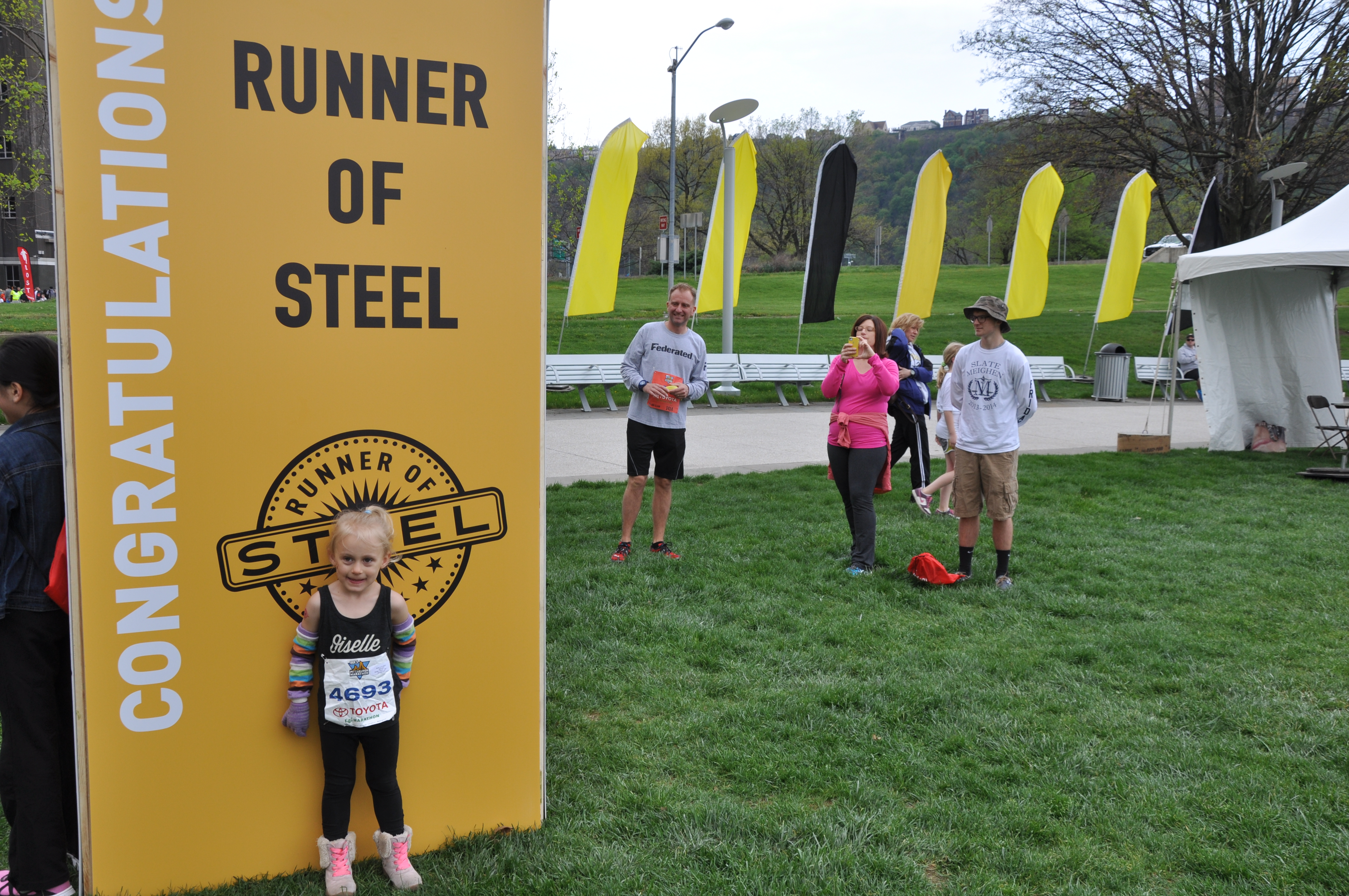 Runner of Steel!