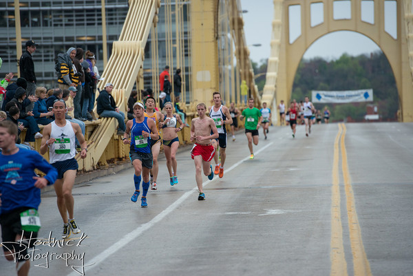 Here I am at mile 4.5. Photo credit to Hodnick Photography.