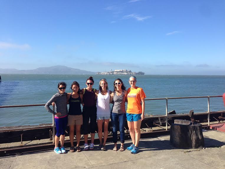 Bret, Michelle, Emily, me, Robin, Paulette!