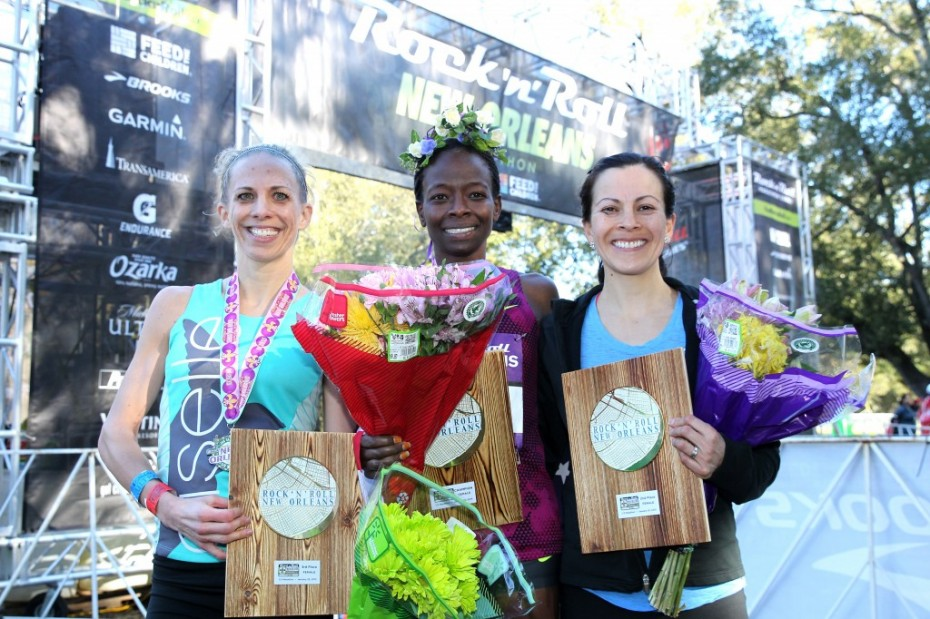 Proud to share the podium with these 2 sweet & speedy gals!