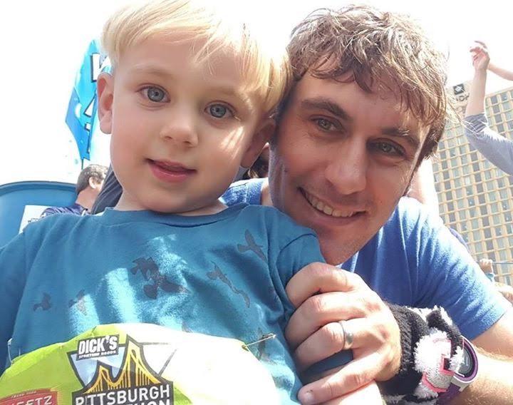 Pittsburgh Marathon toddler trot